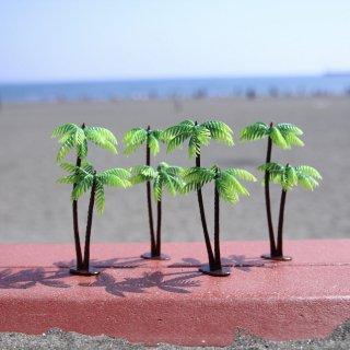ヤシの木のオブジェ 4個セット