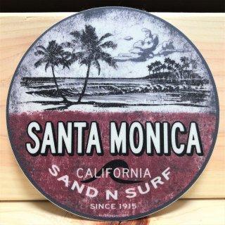 SANTA MONICA サンタモニカのステッカー