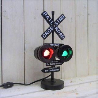 LA/SANTA MONICAの踏切信号ランプ
