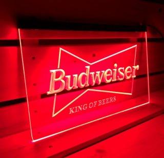 BUDWEISER バドワイザーのネオンサイン