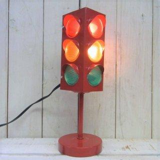 アメリカン雑貨の定番♪信号機型ランプオブジェ RED