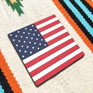 星条旗柄のラバーコースター