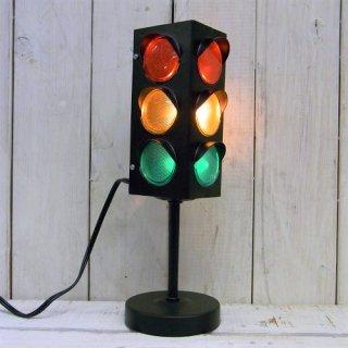 TRAFFIC SIGNAL 信号機型ランプ オブジェ BLACK