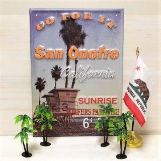 南カリフォルニアの人気サーフスポット、San Onofre サン・オノフルのサインボード
