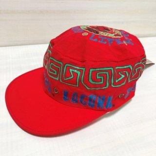 Vintage LAGUNA BEACH CAP (ネオンレッド)