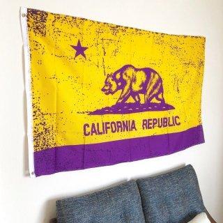 カリフォルニア州旗 【ロサンゼルス・レイカーズ】カラー