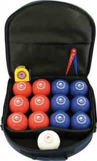 ケンコーボッチャセット 白ボール(1個)/青ボール(1個)/赤ボール(1個)
