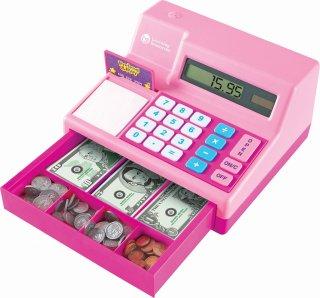 電卓式レジ 米ドル付き ピンク