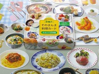 実物大・そのまんま料理カード[増補改訂版] きほんの食事編