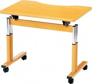 車椅子対応リハビリテーブル 幅900 木目/幅900 アイボリー/幅1600 木目/幅1600 アイボリー【別途送料 都度見積】