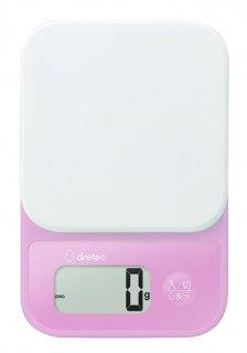 デジタルスケール「シャンティ」 2kg ピンク