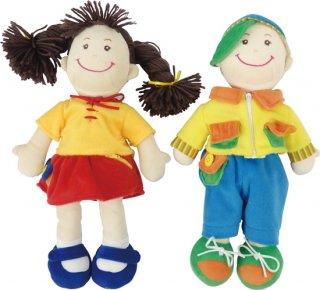 布製 トレーニング人形 2体組