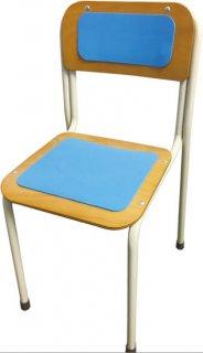 椅子ずれ防止シート4枚セット 背面中/背面小/座面中/座面小