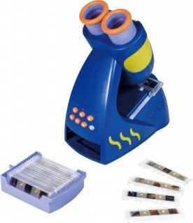 おしゃべり顕微鏡