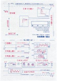 教育図書の基礎縫いシリーズ 基礎縫い生地セット 10個組
