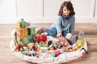おもちゃ片づけ袋 ダイヤモンドグレイ/ダイヤモンドピンク/ロードマップ/トレイン