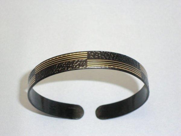 腕輪 横縞市松模様(小)