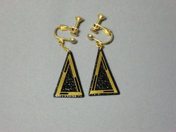 イヤリング  枠 (二等辺三角形)