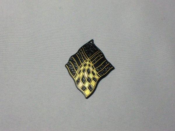 ペンダント 斜格子模様(波型菱形)