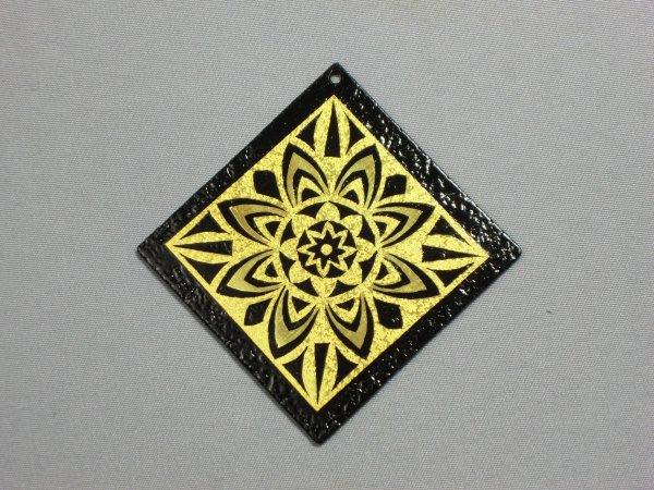 ペンダント 神聖幾何学 太陽(正方形菱)