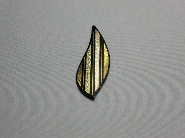 ペンダント 子持縞 (茄子型)