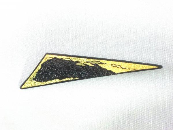 ブローチ   雲霞 B(鈍角三角形)