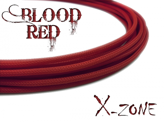 4mm Sleeve - BLOOD RED