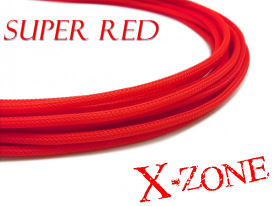 4mm Sleeve - SUPER RED