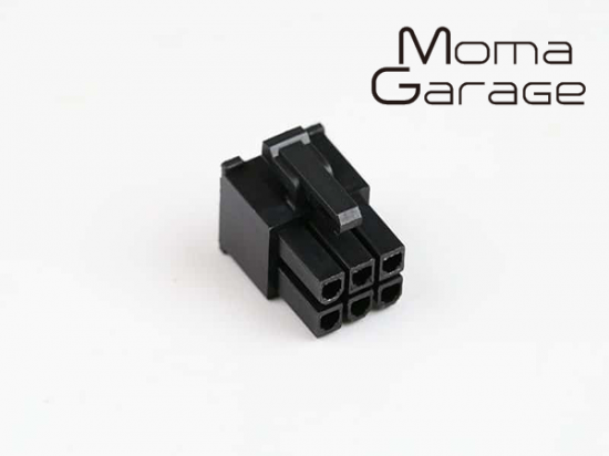 6Pin VGA Power Connector Female + Pin set