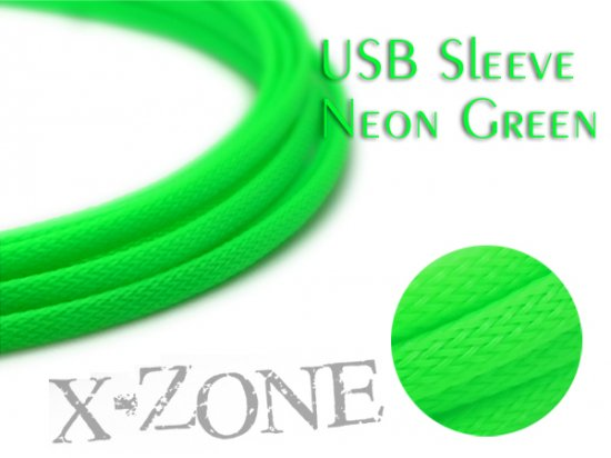 USB Sleeve - NEON GREEN