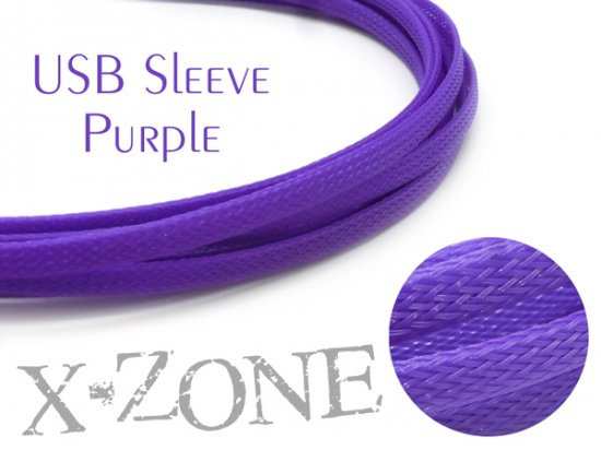 USB Sleeve - PURPLE
