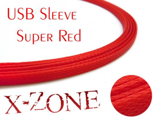 USB Sleeve - SUPER RED