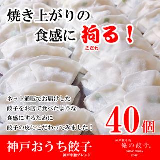神戸おうち餃子40個