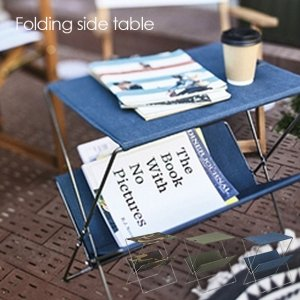 【送料無料】フォールディングサイドテーブル