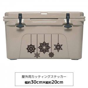 【メール便送料無料】オリジナルステッカー スノースター