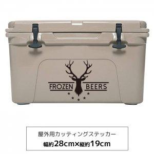 【メール便送料無料】オリジナルステッカー Deer horn