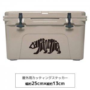 【メール便送料無料】オリジナルステッカー カリフォルニアベア