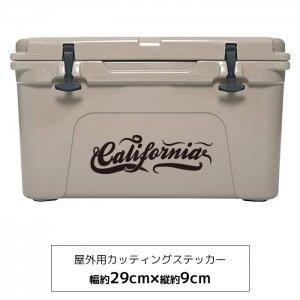 【メール便送料無料】オリジナルステッカー カリフォルニアロゴ