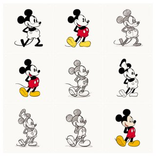 Mickey Mouse animation / IXXI ウォールピクチャー