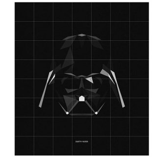 Star Wars  SW Icon : Darth Veder / IXXI ウォールピクチャー