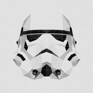 Star Wars SW Icon : Stormtrooper / IXXI ウォールピクチャー