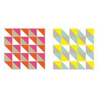 Loco Yellow & Pink small & large リバーシブル / IXXI ウォールピクチャー