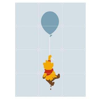 Winnie The Pooh Baloon / IXXI ウォールピクチャー