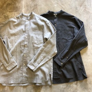 <img class='new_mark_img1' src='https://img.shop-pro.jp/img/new/icons20.gif' style='border:none;display:inline;margin:0px;padding:0px;width:auto;' />【30%OFF 】LENO / BAND COLLAR SHIRT