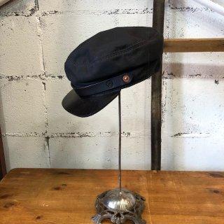 OROX LEATHER Co./ CANVAS WORK CAP/BLACK