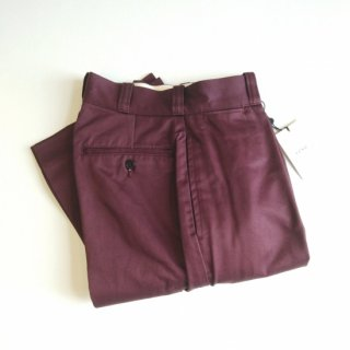 LENO <br>WIDE CHINO TROUSERS