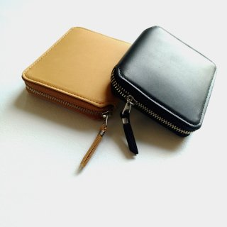 SLOW <br>vegetal round wallet