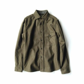 Nigel Cabourn<br>MODIFIED CPO SHIRT / WASHABLE WOOL