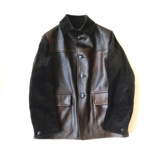 Nigel Cabourn<br>CANADIAN WORK LEATHER JACKET