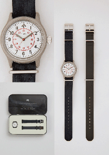 Nigel Cabourn × TIMEX <br> NAVAL OFFICERS WATCH